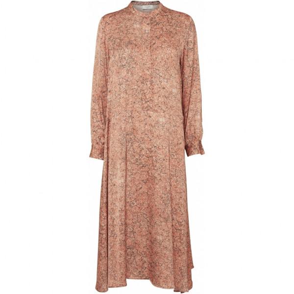 NORR Lennon Dress, Peach Print