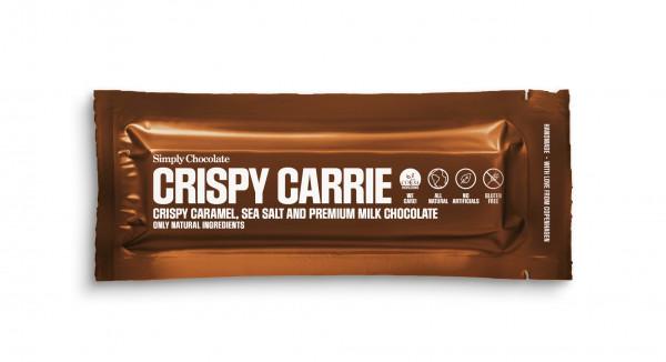 Simply Chocolate, Crispy Carrie Bar, 40g