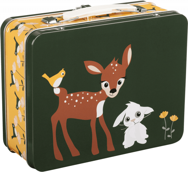 "Bla fre ""Tin Suitcase"" Deer & Bear"