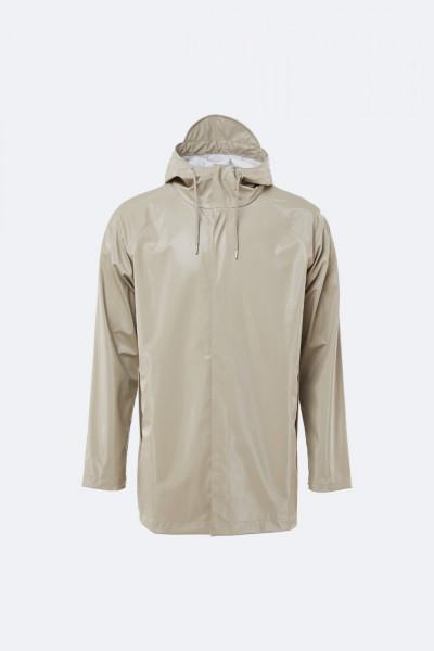 "Rains ""Short Coat"" Shiny Beige"
