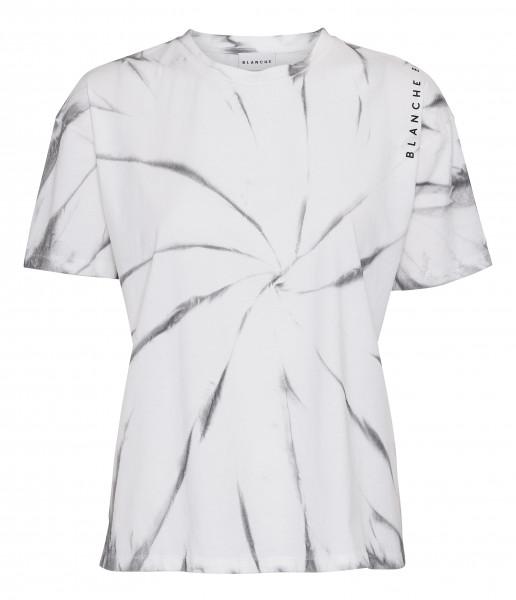 BLANCHE, Main Tie Dye T-Shirt Ecru