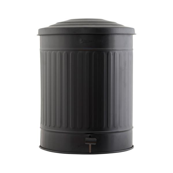 House Doctor, Garbage Bin, Matte Black, 49 Liters