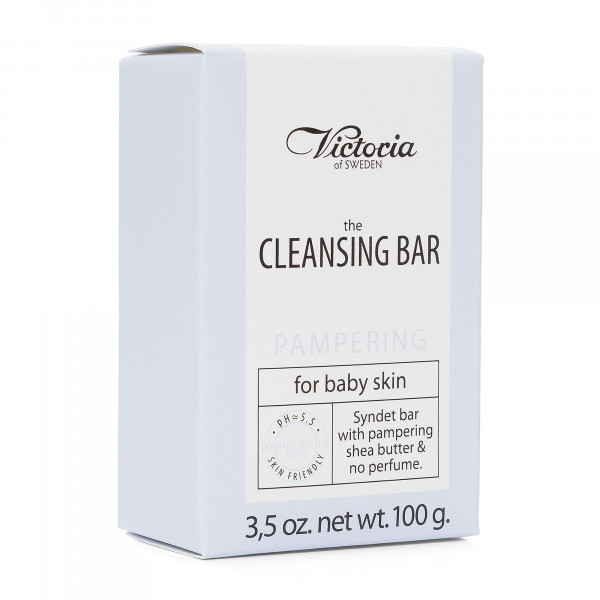 "Victoria Soap ""The Cleansing Bar"", Pampering – for baby skin, 100g"