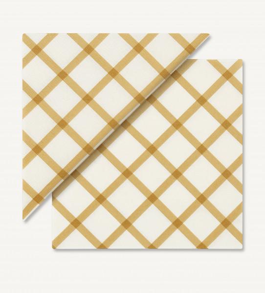 """Marimekko, Servietten, """"Quilt"""", Gold"""