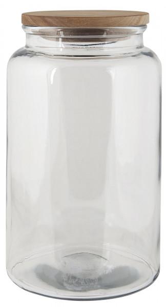 Ib Laursen, Glaskrug mit Holzdeckel 3750ml