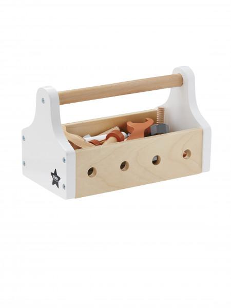 Scandic Toys, Werkzeugkiste weiß, 20-teilig