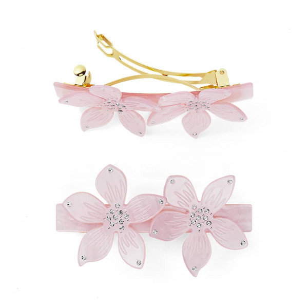 Sui Ava, Flower Hair Clip, Pink