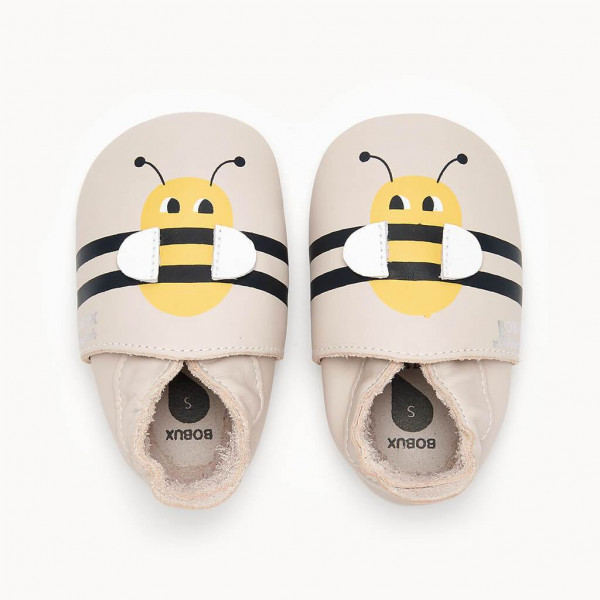 the Bonnie Mob, Bumble Bee, Bee Soft Sole Shoe, Milk