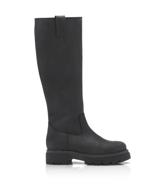 Shoe Biz, Skin Crazy Horse, Black