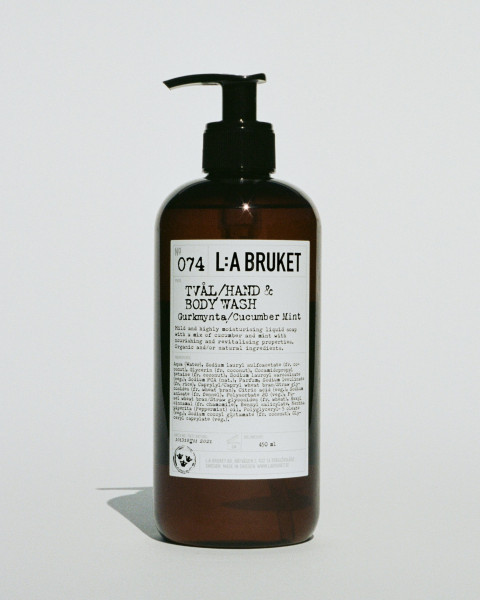 "La Bruket No. 074 ""Hand & body wash"" Cucumber Mint"