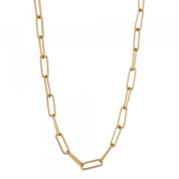 Nordahl, Halskette BOND52 vergoldetes Silber