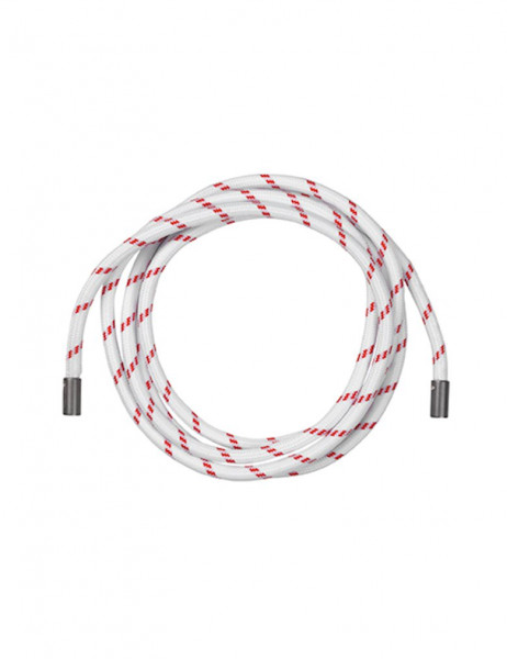 MbyM - Rope Belt, White Red, One Size