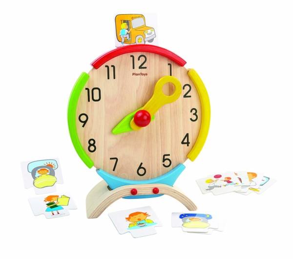 Plan Toys, Lernspiel Uhr