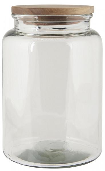 Ib Laursen, Glaskrug mit Holzdeckel 3000ml