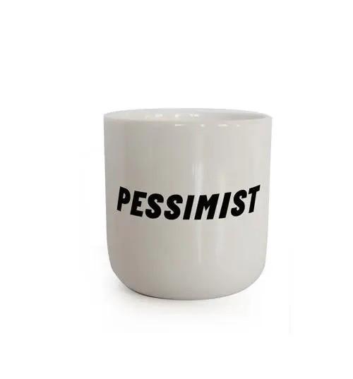 PLTY, PESSIMIST Mug
