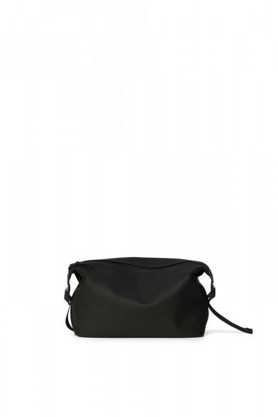 Rains, Weekend Wash Bag, Black