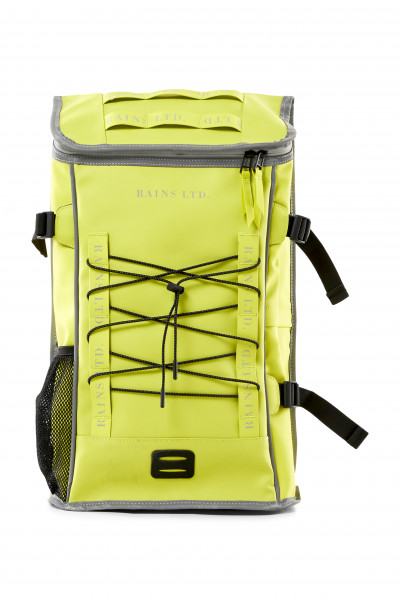 RAINS, LTD Mountaineer Bag, Neon Yellow
