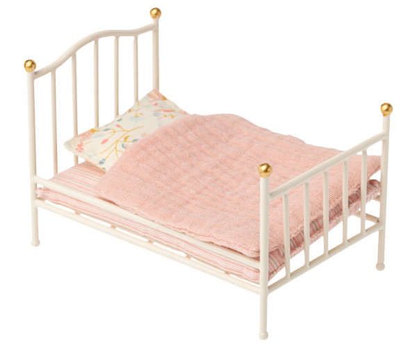 """Maileg """"Vintage bed. Mouse"""" Off White"""
