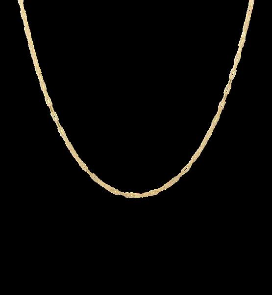 Anna+Nina, Lifeline Plain Long Necklace, Gold