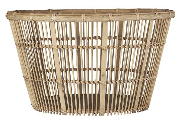 Ib Laursen, Korb groß konisch Bambusgeflecht