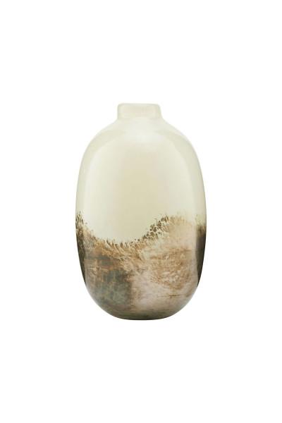 House Doctor, Vase, Earth, Beige/Metallic