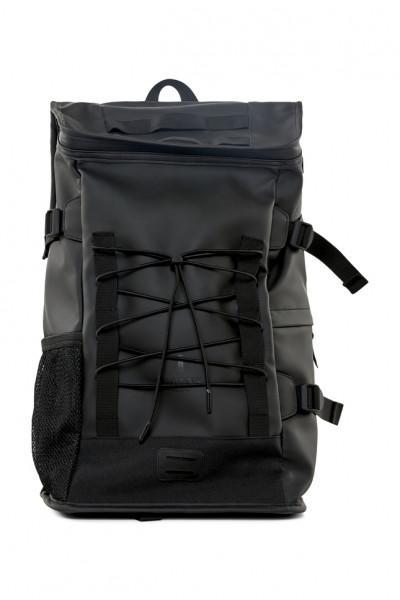 Rains, Mountaineer Bag, Black