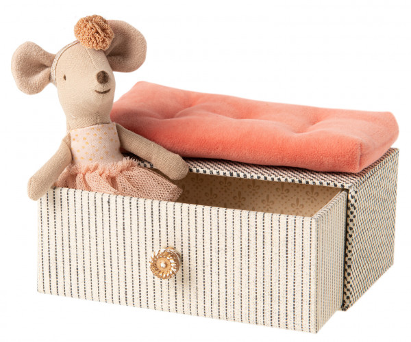 Maileg, Dance Mouse in Daybed, little sister