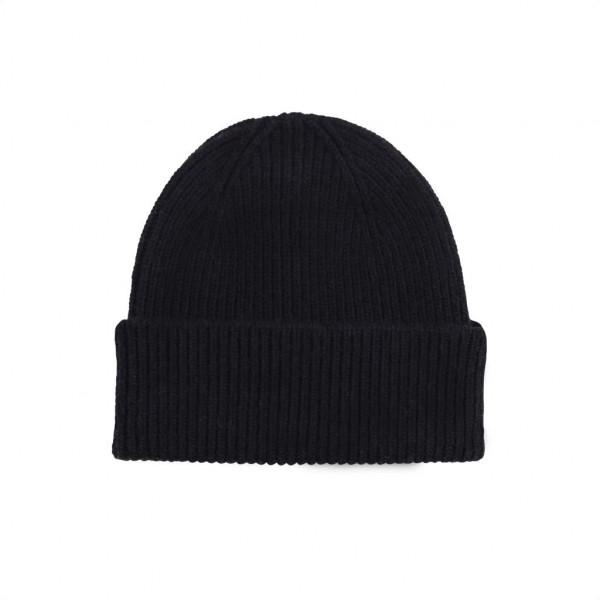 Merino Wool Hat, Black