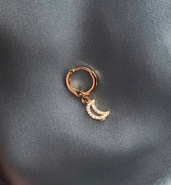 The Earring Shop, Half Moon Hoop