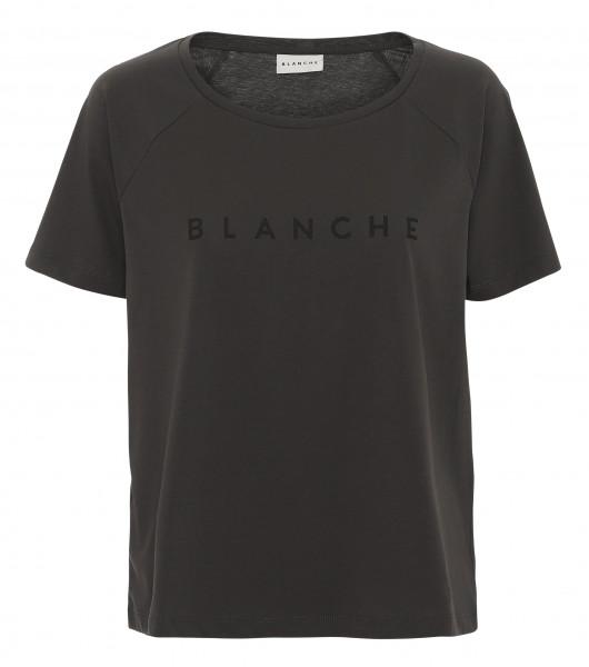 BLANCHE Main Raglan T-Shirt, Black