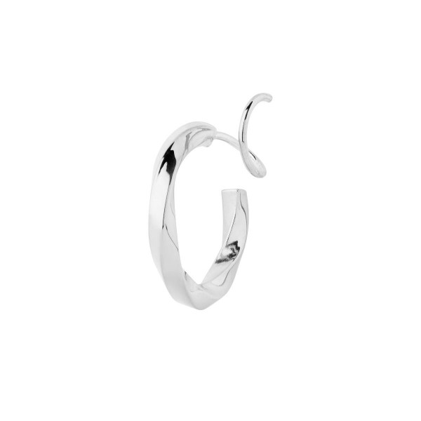 Maria Black, Marcelle Twirl Earring, Silver right