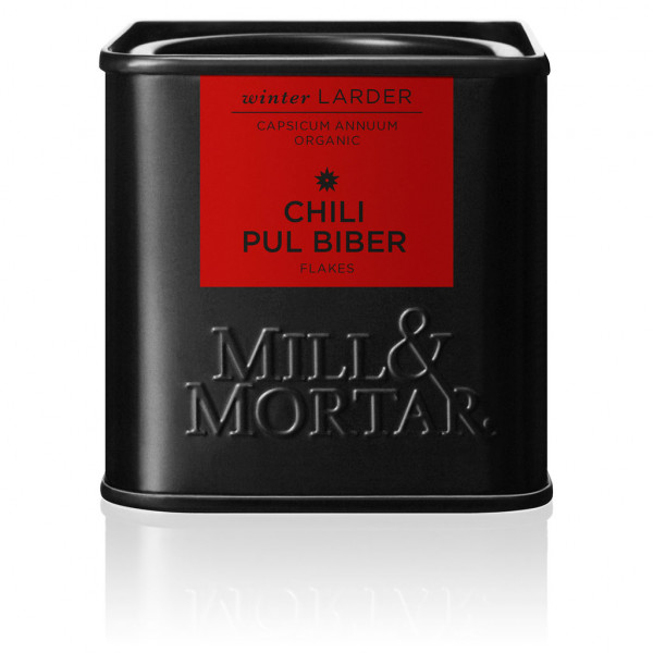 Mill&Mortar, Chili Pul Biber Flocken, Bio, 45g