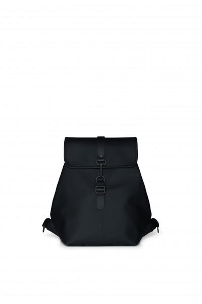 Rains, Bucket Backpack, Black