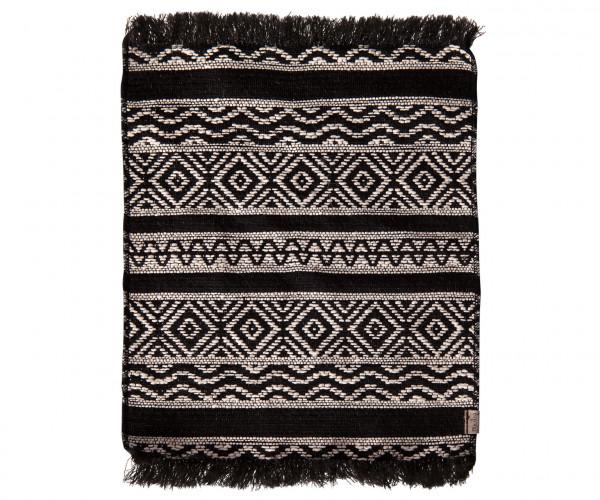 Maileg, Miniature rug, black 24 x 18 cm