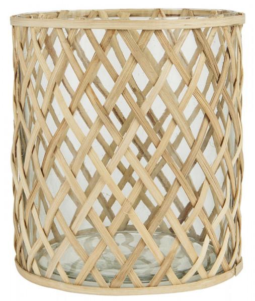 Ib Laursen, Glastopf mit Bambus