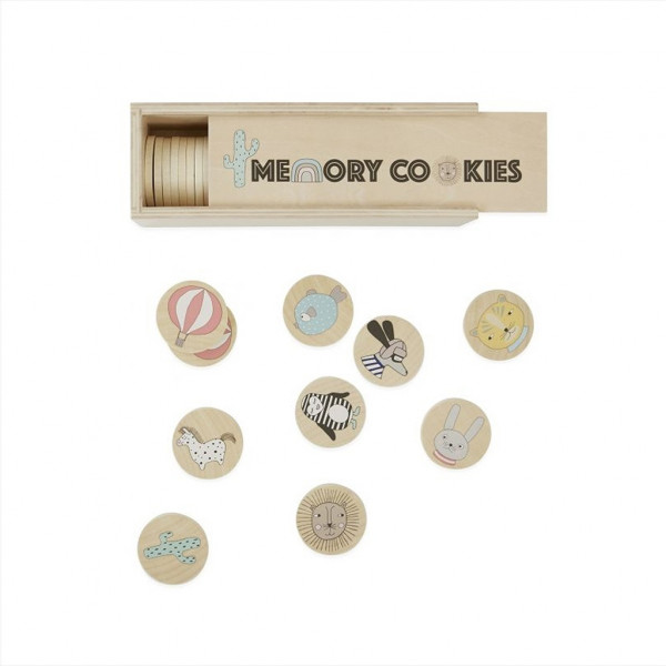 OYOY, Cookies - Memory Game, Neutral