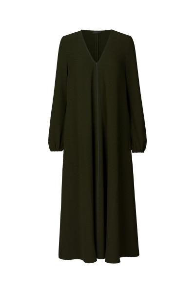 Stine Goya, Brooklyn , Dress Long Structur Stretch, Cedar