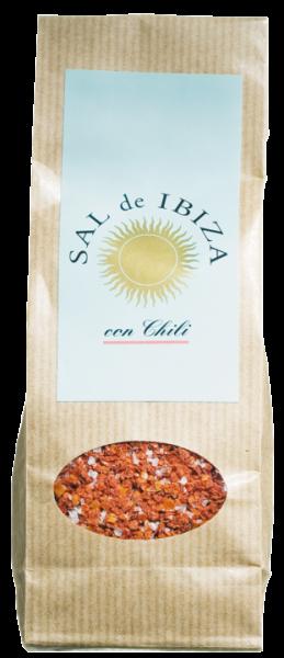 Sal de Ibiza , con Chili, 150g