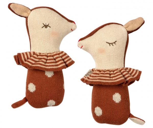 """Maileg """"Bambi rattle"""" Rusty"""