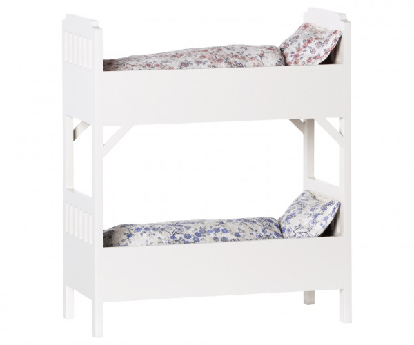 """Maileg """"Bunk Bed"""" small. off white"""