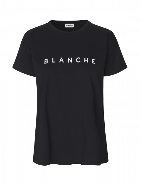 "BLANCHE ""Main Colour T-Shirt"" Black"