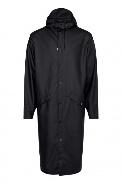 Rains, Longer Jacket, Black