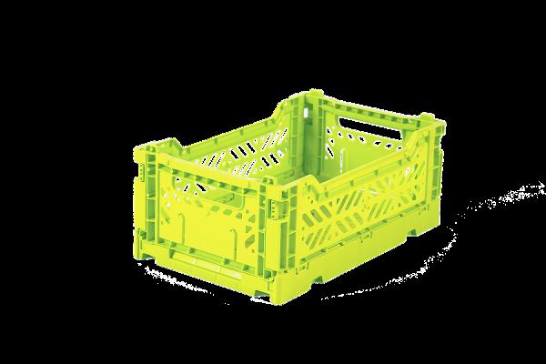Klappbox, Mini, Acid Yellow