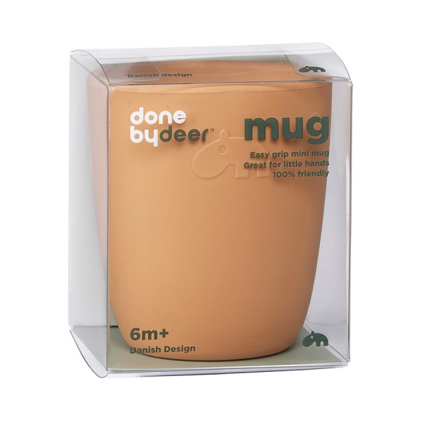 "Done By Deer ""Silicone mini Easy grip mug"" mustard"