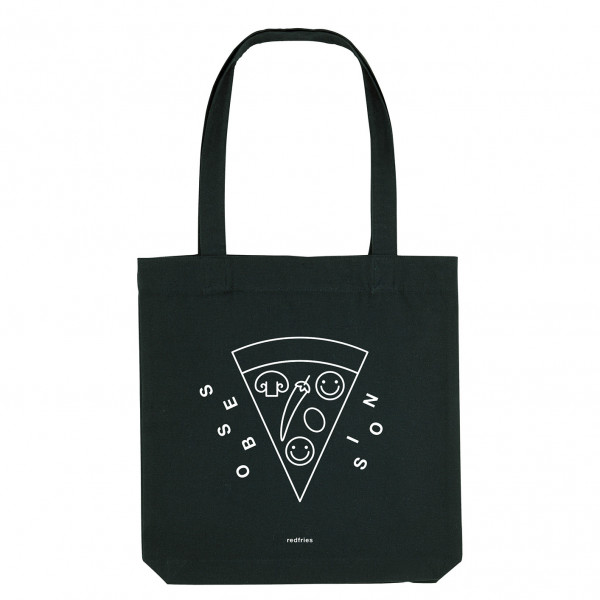Red Fries, Tote Bag, Pizza