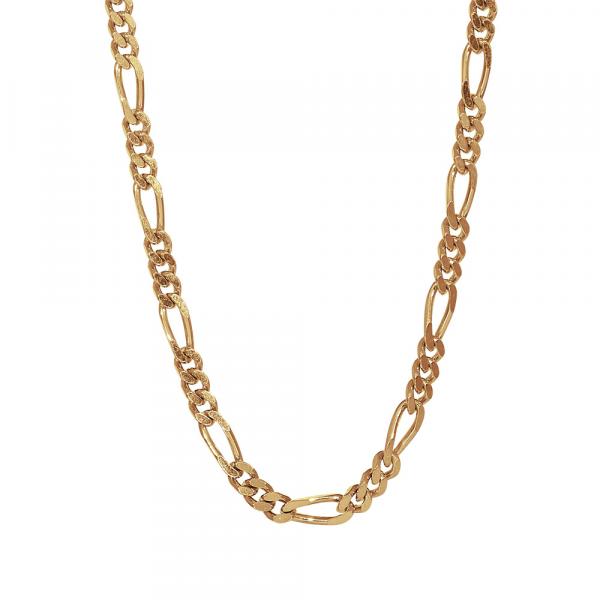 """Nordahl, Halskette """"FIGARO52"""", Silber vergoldet, 3mm"""
