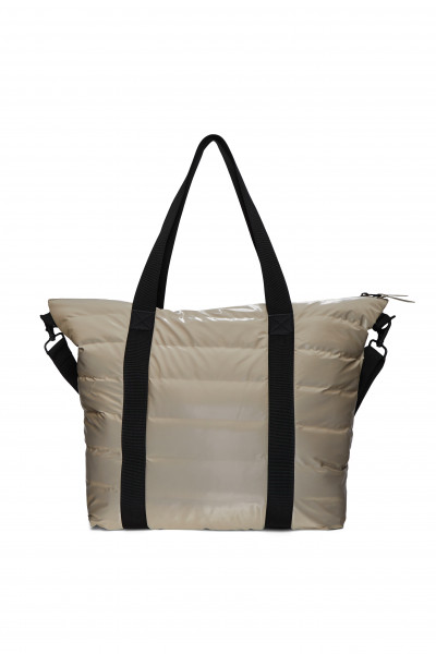 Rains, Tote Bag Quilted, Velvet Taupe