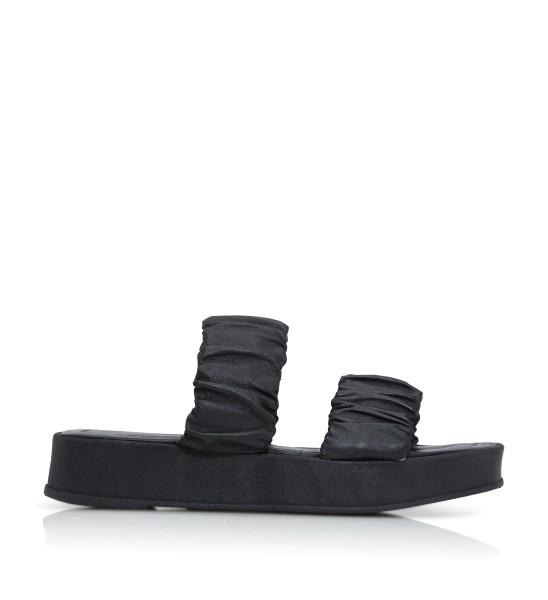 Shoe Biz, Sana Plain Leather, Black