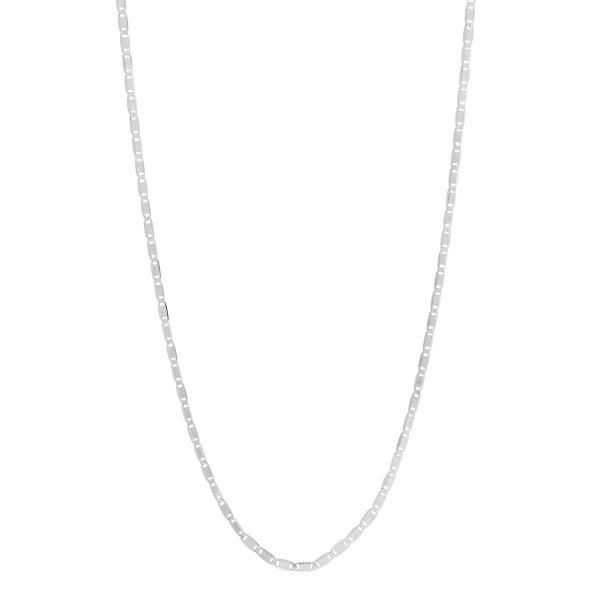Maria Black, Karen 70 Adjustable Necklace - Sterling Silver - White Rhodium