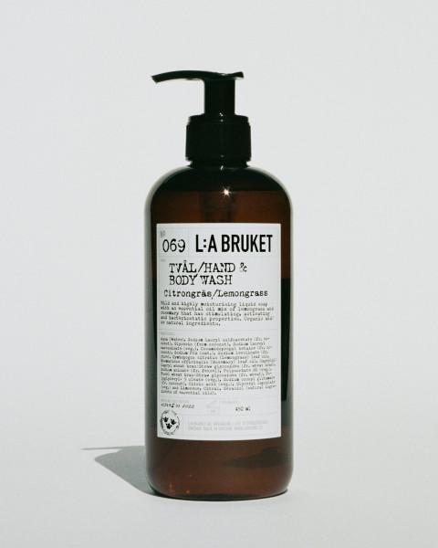 "L:A Bruket No.69 ""Liquid Soap"" Lemongrass 450 ml"
